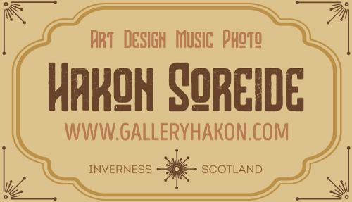 www.galleryhakon.com - The Art and design of Hakon Soreide - Inverness, Scotland